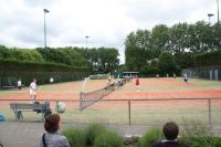 Tennisvelden op Ring Pass Delft